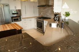 granite and quartz custom kitchen design progressive countertop