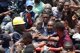 Image result for SCHOOL BUILDING COLLAPSED IN LAGOS