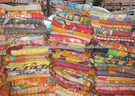 Wholesale Lots Vintage Indian Kantha Quilts Throws And Blankets ... & wholesale lots vintage Indian kantha quilts throws and blankets online  discounted price from wholesaler and manufacturer Adamdwight.com