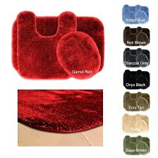 red bath rugs this picture here red bathroom rug sets