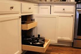kitchen cabinet organizers pull out tray storage pantry sliding drawers drawer slides slide for ou