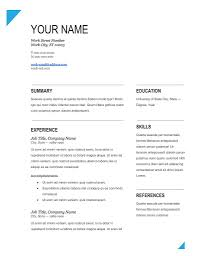 Latest Resume Templates Free Download Latest Resume Format Free Download Marvelous Latest Resume Templates 14