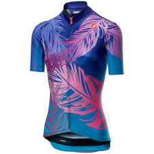 Castelli Tabula Rasa Womens Jersey Blue Purple