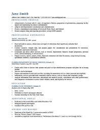 Sample Profile For Resumes Musiccityspiritsandcocktail Com