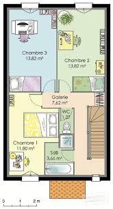 Plan Maison 50m2 Plan Maison 50m2 1 Chambre