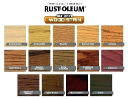 Wood Furniture Stain Color Chart Outdoor Wood Stain Colors Redside