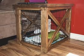 diy dog crate furniture new diy dog cage inspirational pdf diy wood dog crate end table