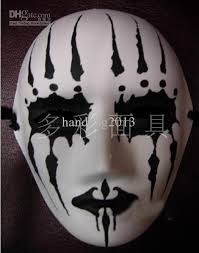 Blank Face Masks To Decorate Paper Mache Thicken Blank White Masks to Decorate Full Face Masks 15
