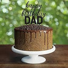 Custom Happy Birthday Dad Cake Topper We Love Dad Cake Topper