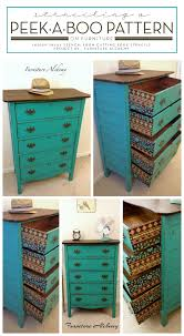 stenciling furniture ideas. stenciling a peekaboo pattern on furniture ideas