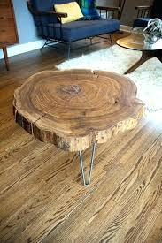 sliced log coffee table sliced log coffee table great slab wood coffee table com with slice