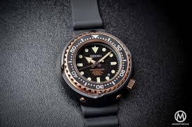 sea emperor size seiko marinemaster 1000m emperor tuna rose gold sbdx014 the 50th