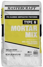 Type N Mortar Mix 60 Lb At Menards