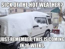 Sick of The Hot Weather? | WeKnowMemes via Relatably.com