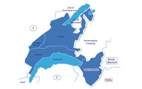 Interaktive karte von genfer see: Genferseegebiet Alpenjoy De