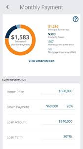 Calculate A Mortgage Loan Mortgage Calculator Monthly Payments Screen Mortgage Loan