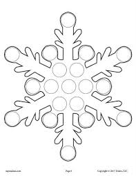 10 Winter Do A Dot Printables Worksheets Activities Lesson