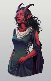 Pin by Byron Tucker on Tutto | Dungeons and dragons characters, Tiefling  female, Character portraits
