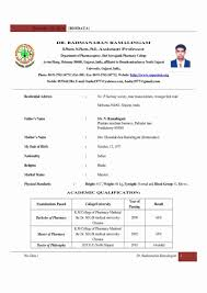 Mba Fresher Resume Format Doc Inspiration Sevte For Experienced Bsc