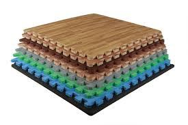 interlocking foam wood flooring safety with style funk interlocking foam floor tiles wood grain