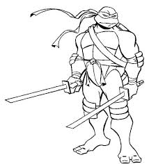 Small Picture Coloring Book Ninja Turtle Coloring Book Coloring Page and