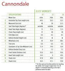 Cannondale Bike Frame Size Chart Oceanfur23 Com