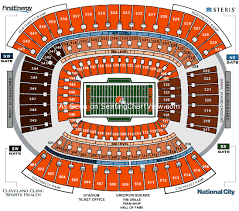Firstenergy Stadium Cleveland Oh Seating Chart View