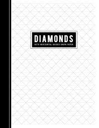 Diamonds With Horizontal Guides Graph Paper Axonometric