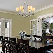 contemporary chandelier traditional dining room