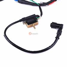 complete electrics all wiring harness wire stator for atv quad complete electrics all wiring harness wire stator for atv quad 50cc 110cc 125cc 4 4 of 8