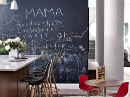Chalkboard Kitchen Wall Chalkboard Walls Fun Home Decor Or Hot Mess Curbed