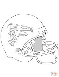 Atlanta Falcons Helmet Coloring Page On Denver Broncos Pages
