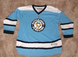 Pittsburgh Penguins Reebok Nhl Hockey Jersey Size Youth L Xl