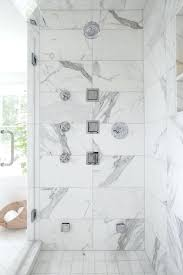 showers marble tile shower with multiple sprays transitional bathroom regard to plan white ideas