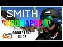 Smith Chromapop Goggle Lens Guide Sportrx Com Youtube
