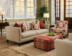 Living Room Ottomans Beautiful Living Room Ottoman In Interior Design For House With