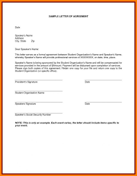 Example Of An Agreement How To Write A Payment Contract Payment Agreement Letter