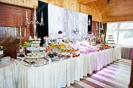 elegance wedding reception table with