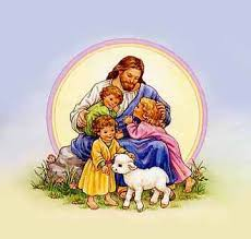 Image result for jesus and the children
