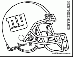 Small Picture remarkable new york giants football coloring pages with football