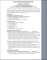 ... See Elementary Teacher Resume Sample Here Writing Service Pertaining To  19 Extraordinary School Samples