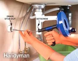 Kitchen Sinks How To Plumb A Kitchen Sink Drain With Garbage Kitchen Sink Drain Problems