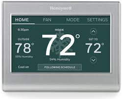 Honeywell Thermostat Comparison Chart Thermostats Wifi Smart Digital Honeywell Home
