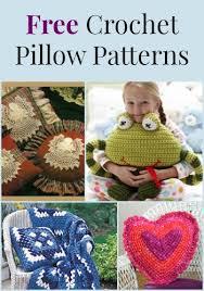 Free Crochet Pillow Patterns Fascinating 48 Free Crochet Pillow Patterns FaveCrafts