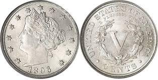 Liberty V Nickel Value Coin Values Coin Values Coin