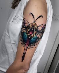 Ornamental Dragonfly Tattoo Amazing Tattoo Ideas
