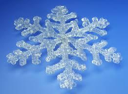 10 Eiskristalle Klein Fensterdeko Weihnachtsdeko