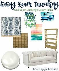 One Room Living Design Tweaking The Living Room The One Room Challenge Begins The