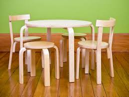 kids tables chairs playroom the home depot kitchen kid table and chairs photo