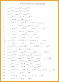 free balancing equations practice worksheet